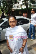 Jaya Bachchan goes to vote on 30th April 2009 (53).JPG