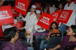 Priyankaa canvassing for the Red FM 93.5 Vote Karo Ya Karwaun cause on 28th April 2009 (14).JPG
