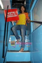 Priyankaa canvassing for the Red FM 93.5 Vote Karo Ya Karwaun cause on 28th April 2009 (19).JPG