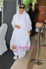 Farida Jalal grace the late Feroz Khan_s prayer meet on 4th May 2009 (39).JPG
