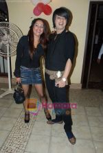 Rohit Verma, Sapana Maniyaar at the launch of Santosh Singh_s editing studio in Club Millennium on 12th May 2009 (5).JPG