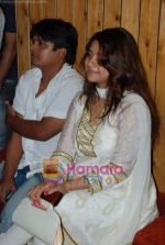 Anara Gupta at Ravi Shankar_s Sajda album recording in Andheri on 16th May 2009 (3).JPG