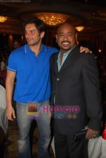 Sohail Khan, Vinod Kambli at Cancer Patients Aid Association (cpaa) Bollywood cricket match press meet in Taj Land_s End on 23rd May 2009 (4).JPG