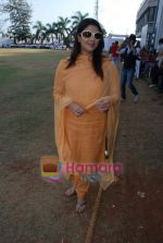 Nagma at the cricket match for CPAA and Percept celebrate World No Tobacco Day in Mumbai Police Gymkhana, Mumbai on Monday, 25 May 2009 (2).JPG