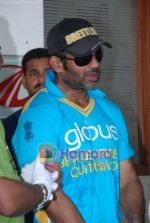 Sunil Shetty at the cricket match for CPAA and Percept celebrate World No Tobacco Day in Mumbai Police Gymkhana, Mumbai on Monday, 25 May 2009 (75).JPG