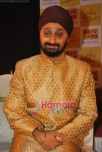 Jaswinder Singh at the launch of Jaswinder Singh_s album Ishq Nahin Asaan in Bhavans on 27th May 2009 (2).JPG