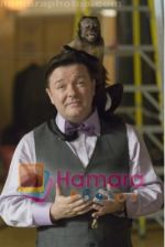 Ricky Gervais in still from the movie Night at the Museum - Battle of the Smithsonian.jpg