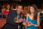 Mithun Chakraborty, Saumya Tandon at the grand finale of Dance India Dance in Andheri Sports Complex on 30th May 2009 (2).JPG