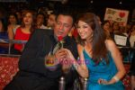 Mithun Chakraborty, Saumya Tandon at the grand finale of Dance India Dance in Andheri Sports Complex on 30th May 2009 (3).JPG