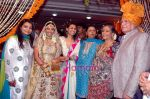 vaibhavi, rani with her mom at Payal Gidwani_s wedding reception in Iskcon on 1st June 2009.jpg