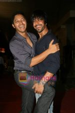Shreyas Talpade, Aashish Chaudhry at the Paying Guests film premiere in Cinemax on 19th June 2009 (65).JPG