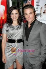 Sophia Bush and Kevin Zegers at the New York Premiere of THE NARROWS in Bottino on 19th June 2009.jpg