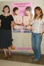 Alycia Delmore, Lynn Shelton at the premiere of HUMPDAY on June 26, 2009 in New York City.jpg