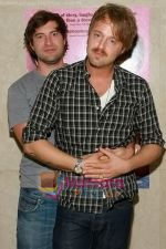 Mark Duplass, Joshua Leonard at the premiere of HUMPDAY on June 26, 2009 in New York City.jpg