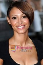 Amelle Berrabah at the premiere of PUBLIC ENEMIES on 29th June 2009 in London.jpg