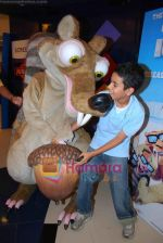 Scrat fighting with Tanay for his acor at ICE AGE 2 PREMIERE in Fame, Malad on 1st July 2009n.jpg