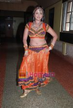 Bhojpuri actress Rani photo shoot at Munnibai Nautankiwali premiere! in Navrang on 3rd July 2009 (17).JPG