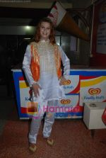 Bhojpuri actress Rani photo shoot at Munnibai Nautankiwali premiere! in Navrang on 3rd July 2009 (8).JPG