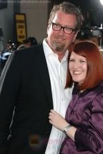 Chris Haston, Kate Flannery at the LA Premiere of the movie Br�no on 25th June 2009 in Grauman_s Chinese Theatre.jpg