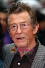 John Hurt at the UK Premiere of movie HARRY POTTER AND THE HALF BLOOD PRINCE on 7th JUly 2009 in Odeon Leicester Square.jpg