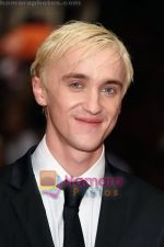 Tom Felton at the UK Premiere of movie HARRY POTTER AND THE HALF BLOOD PRINCE on 7th JUly 2009 in Odeon Leicester Square.jpg