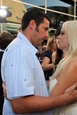 Adam Sandler, Anna Faris at the LA Premiere of FUNNY PEOPLE on 20th July 2009 at ArcLight Hollywood, California.jpg