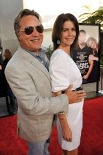 Don Johnson, Kelley Phleger at the LA Premiere of FUNNY PEOPLE on 20th July 2009 at ArcLight Hollywood, California.jpg