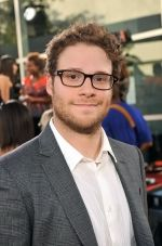 Seth Rogen at the LA Premiere of FUNNY PEOPLE on 20th July 2009 at ArcLight Hollywood, California.jpg