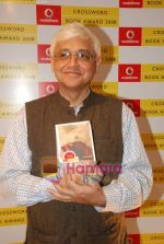 Amitav Ghosh at Crossword Book store awards in Nehru Centre on 23rd July 2009 (5).JPG