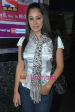 Anjali Pandey at Night at the Museum 2 premiere in Fame Adlabs on 23rd July 2009 (14).JPG