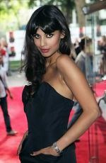 Jameela Jamil at the London Premiere of movie INGLOURIOUS BASTERDS on July 23rd, 2009 at Odeon Leicester Square.jpg