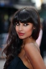 Jameela Jamil at the London Premiere of movie INGLOURIOUS BASTERDS on July 23rd, 2009 at Odeon Leicester Square (2).jpg