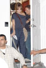 Jennifer Lopez at the Location For THE BACK-UP PLAN ON July 22, 2009 on the Streets of Manhattan, NY (13).jpg
