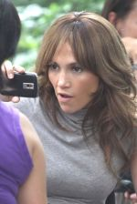 Jennifer Lopez at the Location For THE BACK-UP PLAN ON July 22, 2009 on the Streets of Manhattan, NY (16).jpg
