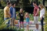 Adam Sandler, Judd Apatow, Eric Bana, Seth Rogen, Maude Apatow, Iris Apatow in still from the movie Funny People.jpg