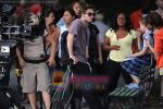 Robert Pattinson at the location for movie REMEMBER ME on June 30th 2009 in Central Park, NY (2).jpg