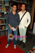 Sharman Joshi, Rohit Roy at the premiere of UTV World Movies - Waltzing with Bashir in PVR, Lower Parel on 29th July 2009  (5).JPG