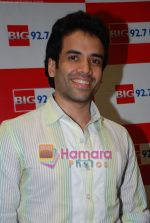Tusshar Kapoor at Big 92.7 FM on 4th Aug 2009 (21).JPG