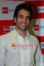Tusshar Kapoor at Big 92.7 FM on 4th Aug 2009 (22).JPG