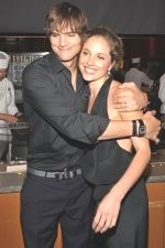 Ashton Kutcher, Margarita Levieva at the LA Premiere of SPREAD on August 3rd 2009 at ArcLight Cinemas.jpg