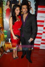 Aashish and Sophie Chaudhary at Daddy Cool film music launch in Cinemax on 10th Aug 2009 (71).JPG