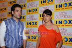 Genelia D Souza, Tusshar Kapoor promote Life Partner in INOX on 11th Aug 2009 (11).JPG