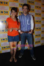 Genelia D Souza, Tusshar Kapoor promote Life Partner in INOX on 11th Aug 2009 (6).JPG
