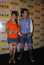 Genelia D Souza, Tusshar Kapoor promote Life Partner in INOX on 11th Aug 2009 (7).JPG
