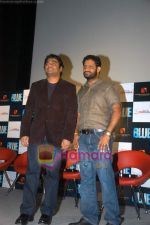 A R Rahman and Resul Pookutty at Blue film music preview in Cinemax on 12th Aug 2009 (8).JPG