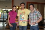Genelia D Souza, Tusshar Kapoor promote life partner on 12th Aug 2009 (22).JPG