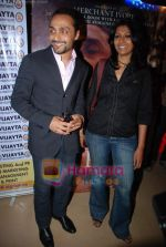 Rahul Bose, Nandita Das at the premiere of Before The Rains in PVR on 12th Aug 2009 (2).JPG
