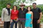 Udita Goswami, Anuj Saxena, Jag Mundhra, Rajesh Khattar, Trina Patel at Film Chase on location in FilmCity on 13th Aug 2009 (4).JPG