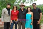 Udita Goswami, Anuj Saxena, Jag Mundhra, Rajesh Khattar, Trina Patel at Film Chase on location in FilmCity on 13th Aug 2009 (5).JPG