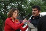 Udita Goswami, Rajesh Khattar at Film Chase on location in FilmCity on 13th Aug 2009 (4).JPG